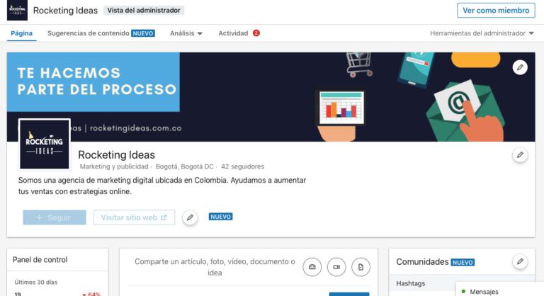 pagina-empresarial-linkedin
