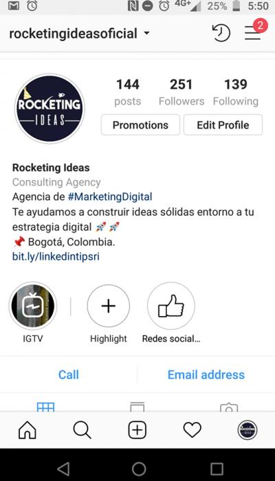 Instagram de rocketing